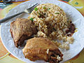 Ghanaian Rice and Chicken.jpg