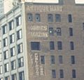 Ghost signs on Michigan Avenue building in 1968.jpg