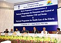 Ghulam Nabi Azad addressing at the Review Programme on Implementation of the National Programme for Prevention & Control of Cancer, Diabetes.jpg