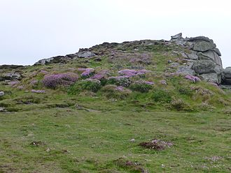 St Mary's, Isles of Scilly - Giant's Castle in 2013