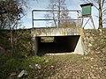 Gießgraben (Kriegbach), Durchlass bei Kirrlach.jpg