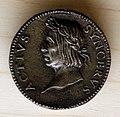 Girolamo santacroce, medaglia di jacopo sannazzano, ante 1524 (bargello).jpg