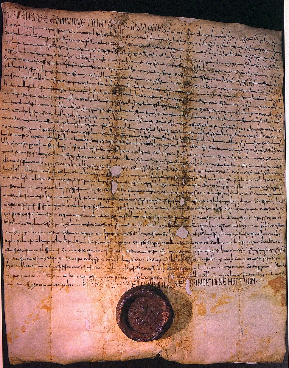 Gisulf II of Salerno, Charter, 1054