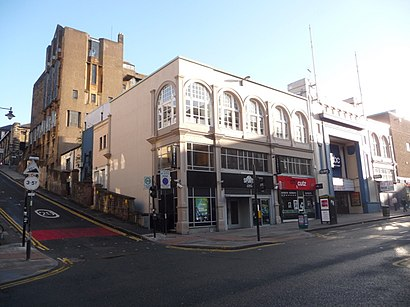 How to get to O2 ABC with public transport- About the place