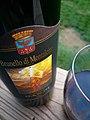 Glass & bottle of Brunello di Montalcino.jpg