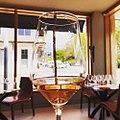 Glass of Rose wine at Corner 103 - Sarah Stierch.jpg