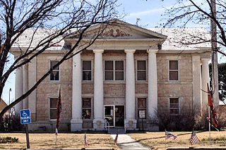 Glasscock County Courthouse United States historic place