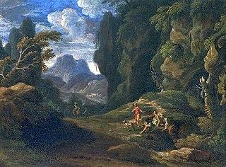 Johannes Glauber Dutch painter