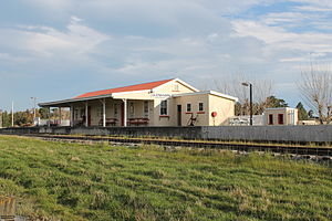Weka Pass Railway - Glenmark Station in Waipara
