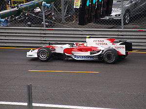 2008 Italian Grand Prix - Timo Glock was fastest in the third session of practice