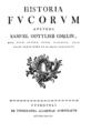 Gmelin - Historia Fucorum (Titelblatt).png