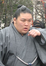 Goeido Gotaro 2008. 咳き込む豪栄道