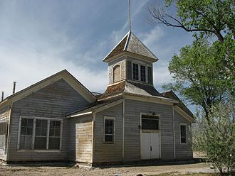 Golconda, Nevada - Golconda School is listed on the National Register of Historic Places