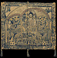 Gold-thread embroidered Aer, a liturgical cloth used to cover the vessels of the Eucharist - Google Art Project.jpg