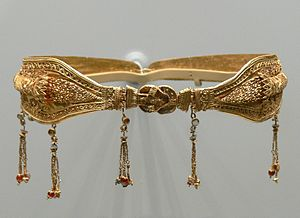 Diadem. Gold. Greek, probably made in Alexandr...