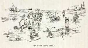 Ye Gude Olde Days, from Hockey: Canada's Royal Winter Game, 1899.