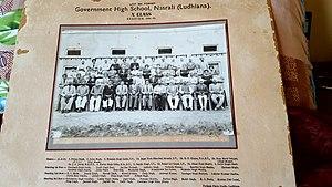 Nasrali - Class X, Nasrali 1958-1959