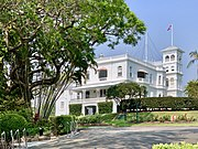 Government House seen from street, Brisbane, Queensland, 2019, 01