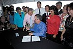 Governor Jeb Bush signing the Babcock Preservation Act during ceremony - Punta Gorda, Florida.jpg