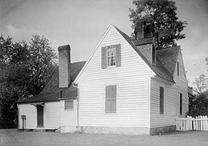 John Page (Virginia politician) - Governor John Page House, Williamsburg