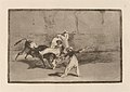 Goya - Cogida de un moro estando en la plaza (A Moor Caught by the Bull in the Ring).jpg