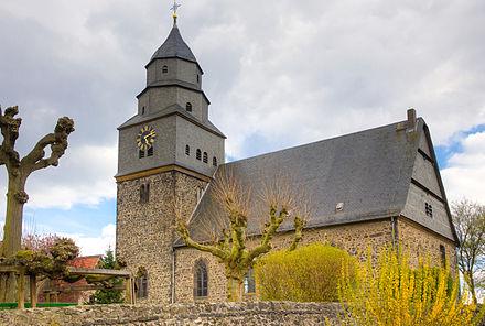 Fußboden Graß Hungen ~ Evangelische kirche grüningen wikiwand
