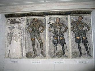 Henry V, Duke of Brunswick-Lüneburg - Tomb of Duke Henry, his consort Sophia, and his sons Charles Victor and Philip, St Mary's Church, Wolfenbüttel