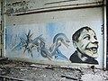 Graffiti, Huncoat Power Station - geograph.org.uk - 849017.jpg