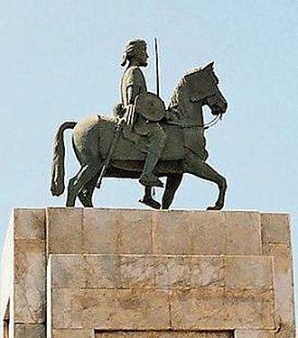 Ahmad ibn Ibrahim al-Ghazi - Statue of Ahmad ibn Ibrihim al-Ghazi, Mogadishu