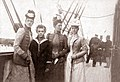 Grand Duchess Xenia (right) with brother Michael and cousins.jpg