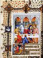 Grandes heures de Jean de Berry (1409) - Les Noces de Cana.jpg