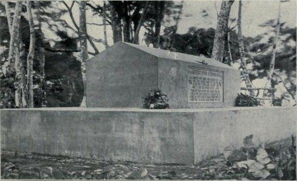 Grave of Robert Louis Stevenson 1909