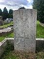 Gravestone of Flight Lieutenant J.G.D. Williams of the Royal Air Force Volunteer Reserve at Pantmawr Cemetery, July 2020.jpg