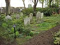 Gravestones, St John's Wood Churchyard - geograph.org.uk - 771909.jpg