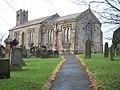 Gravestones in the Parish Church of Seamer - geograph.org.uk - 1639599.jpg