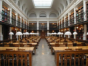 University of Graz Library - Historical reading room