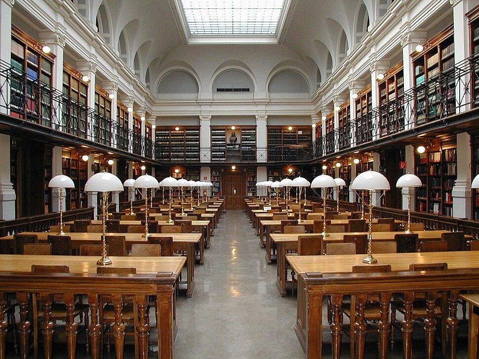 Graz University-Library reading-room