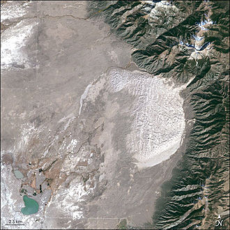 Protected area mosaic - Great Sand Dunes National Park and Preserve in Colorado, US