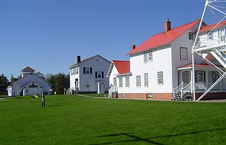 Great Lakes Shipwreck Museum - Great Lakes Shipwreck Museum complex