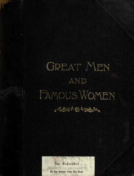 File:Great Men and Famous Women Volume 2.djvu