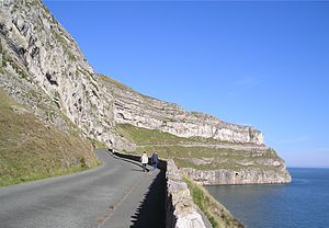 English: The Marine Drive at Llandudno photogr...
