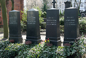 Wilhelm Grimm - Grimms' tomb in Berlin