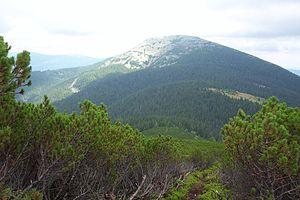 Eastern Beskids and the Ukrainian Carpathians - Grofa, Gorgany range