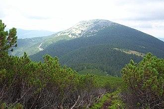 Ukrainian Carpathians - Grofa, Gorgany range