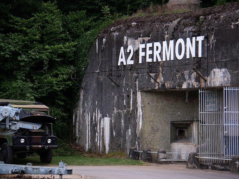Le gros ouvrage du Fermont; sur la commune de Montigny-sur-Chiers faisait partie du Secteur fortifié de la Crusnes de la Ligne Maginot.