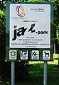 GuentherZ 2011-05-07 0018 Wien22 Jazzpark Tafel.jpg