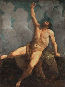 Guido Reni - Hercules on the Pyre - WGA19283