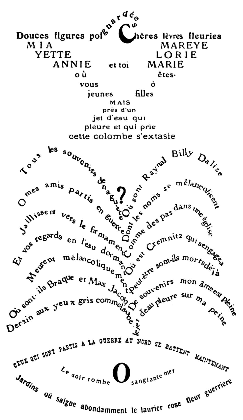 Calligrammes - Howling Pixel