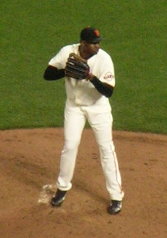 Guillermo Mota - Mota with the San Francisco Giants