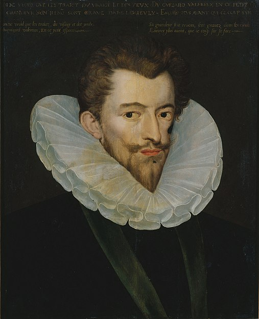 Retrato de Enrique I de Guisa, tercer duque de Guisa.